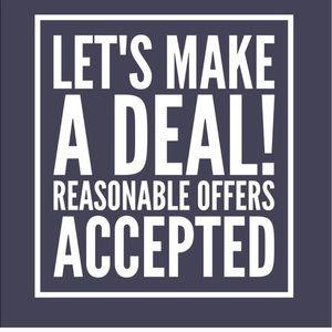 LETS MAKE A DEAL! Offers, Bundles Encouraged!
